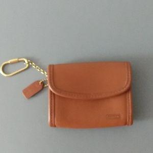 Coach Vintage Tan Wallet